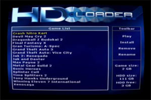 hd loader dvd: